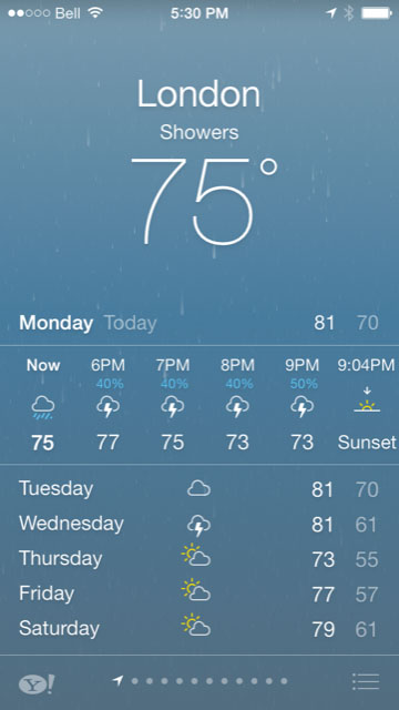 LiveWeatherIcon Cydia tweaks iOS 7
