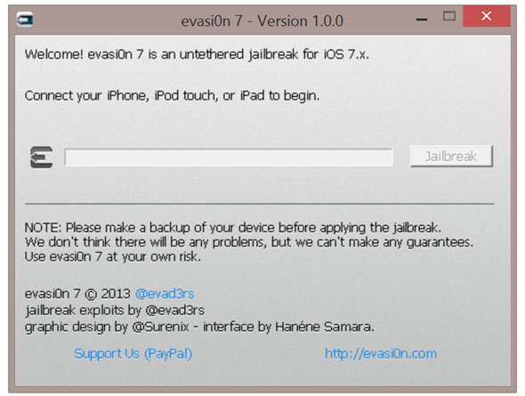 iOS 7 Cydia download evasion jailbreak