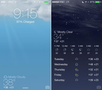 Forecast Cydia lockscreen tweaks themes